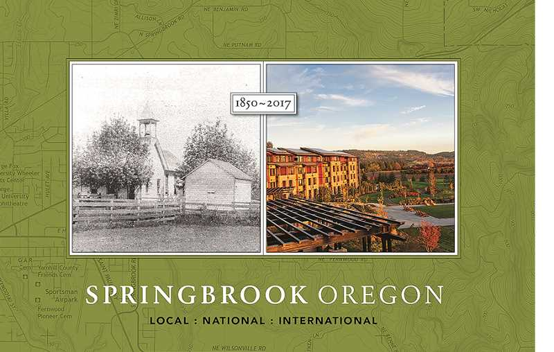 Documenting Springbrook from fruit to luxury lodging