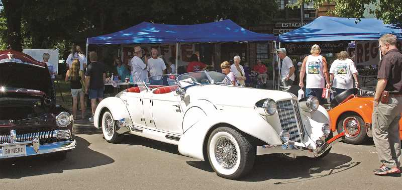 FILE PHOTO - The annual Old Time Cruise to Estacada, hosted by the Route 26 Cruisers, is scheduled for 11 a.m. to 3 p.m.  Saturday, August 5, at Timber Park, 30878 N.W. Evergreen Way.
