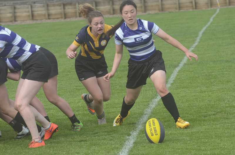 Girls rugby photos: Canby takes on Grant at home