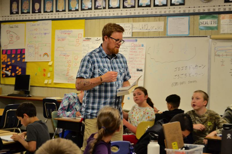 Gravity, nature inspire Naas Elementary teacher
