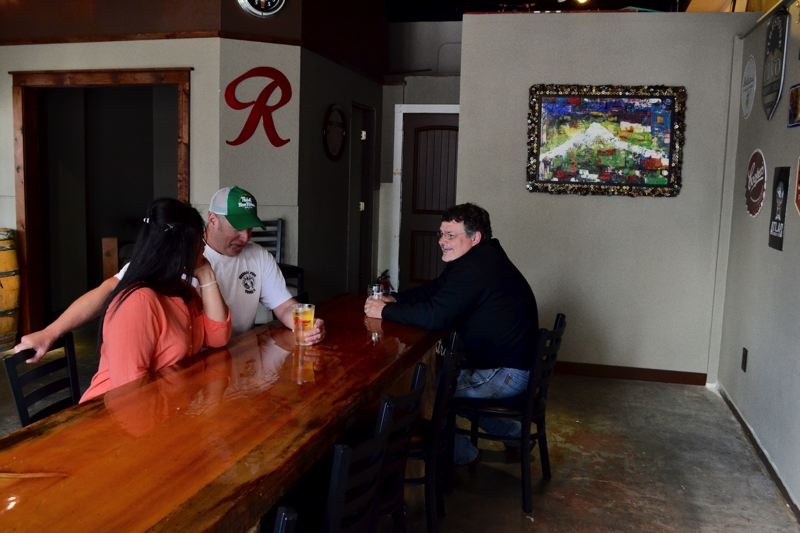 POST PHOTO: BRITTANY ALLEN - Owners of the Beer Den hope new space will make the place more comfortable for customers.