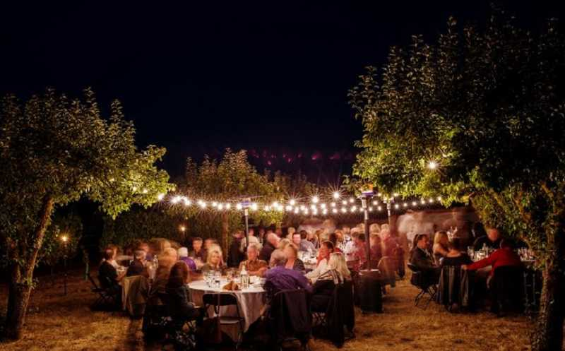 Field and Vine farm to table dinners are a highlight of summer.