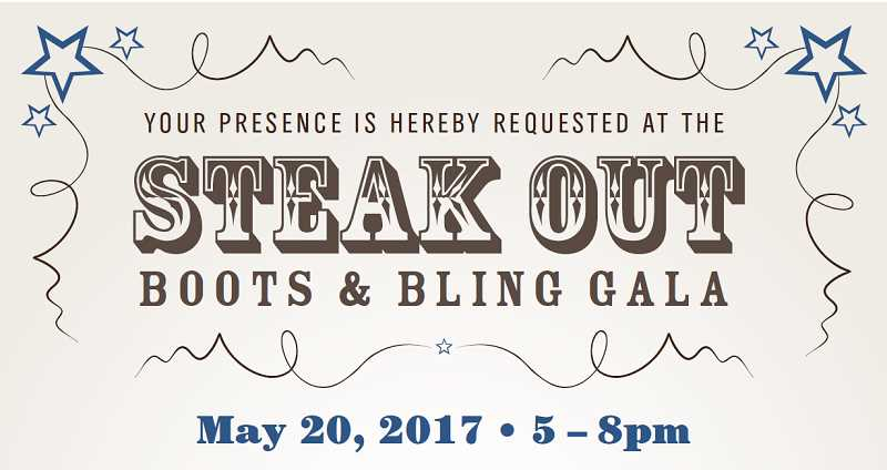The first Sherwood Police Foundation Steakout barbecue is set for Saturday, May 20 at the Sherwood Center for the Arts.