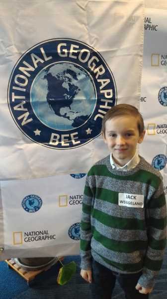 Hopkins fourth-grader does well at Oregon Geography Bee