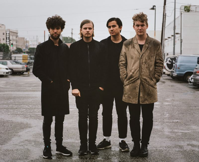 COURTESY: JACK MCKAIN/WARNER RECORDS - Playing at Roseland Theater on Friday, May 12, Klangstof are (from left) Koen van de Wardt, Wannes Salome, Jun Christian Villanueva and Jobo Engh.