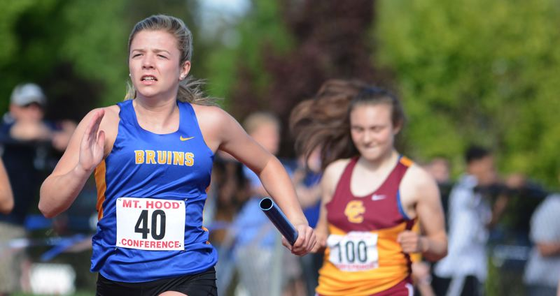 Bruins dominate the track at district