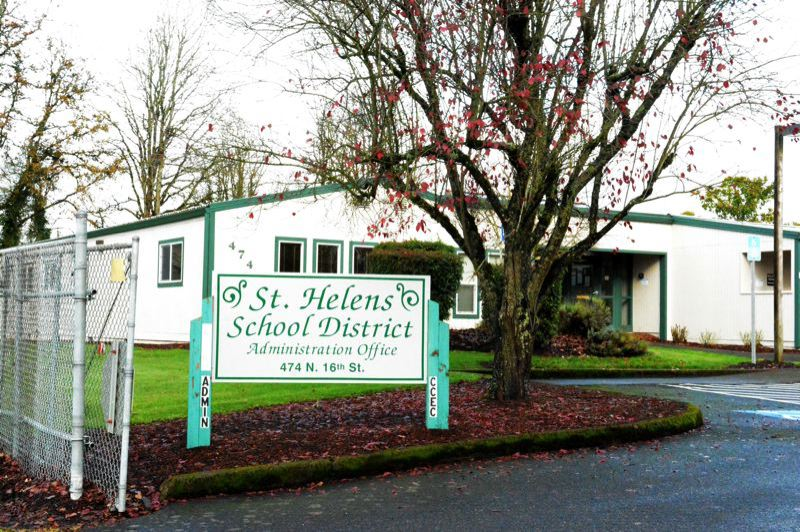 SPOTLIGHT FILE PHOTO - The St. Helens School District has proposed a budget that reduces staffing levels by roughly 10 instructional positions. The cutbacks could be lessened at the middle school and high school with state money for career and technical education programs, but those numbers have not been finalized.