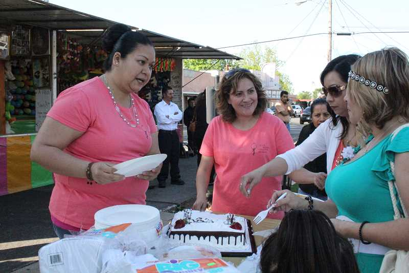 INDEPENDENT FILE PHOTO - Dia de la Madre, hosted by the Woodburn Downtown Association a few years ago, is now a city event for Mother's Day, to be held Saturday from 10 a.m. to 11 p.m. in the Downtown Plaza.