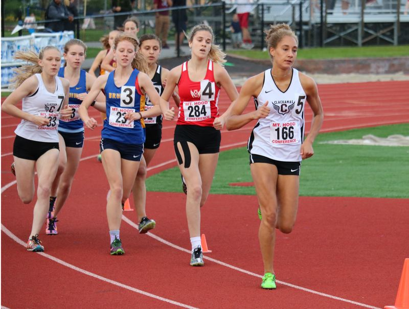 Clackamas girls clinch Mt. Hood district track crown