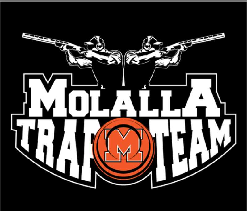 PHOTO COURTESY OF MARTIN MONSEY - Molalla High School's clay target team logo, designed by Brian Mount.
