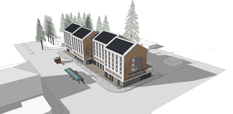 COURTESY: CENTRAL CITY CONCERN - The proposed Eastside Health Center.