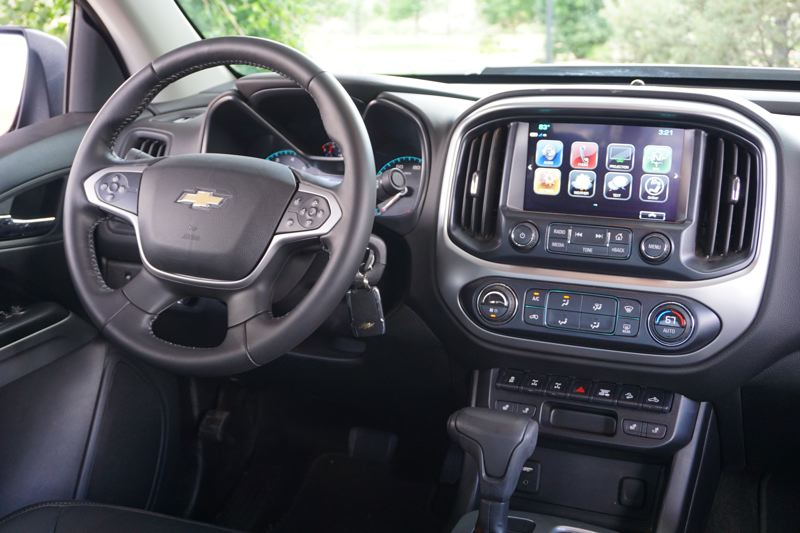 PORTLND TRIBUNE: JEFF ZURSCHMEIDE - Inside, the ZR2 is a completely modern truck. You get Chevy's MyLink system, and a 4G/LTE data connection with WiFi. The seats are comfortable and the optional Bose audio system is as good as anything on the market.