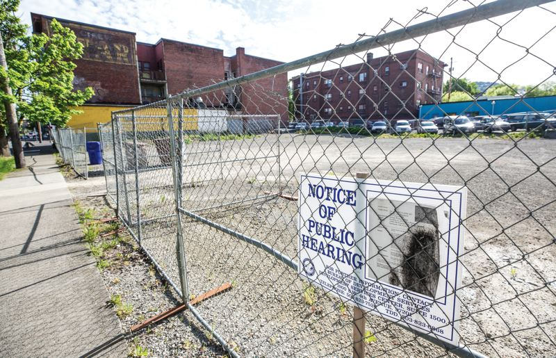 PORTLAND TRIBUNE: JONATHAN HOUSE - A vacant lot at 905 NW 17th Ave. in Northwest Portland was submitted for permit in April — it's valued at $18 million with 124 units, to be designed by SERA Architects.