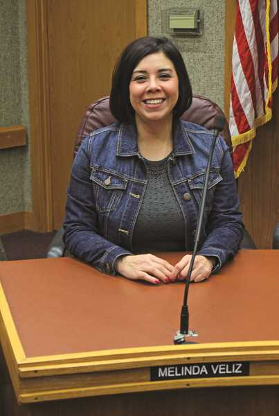 INDEPENDENT FILE PHOTO - Melinda Veliz was elected to a four-year term as the Ward 1 city councilor last November. Her replacement, who will be appointed by the mayor and approved by the council, will finish out that term.