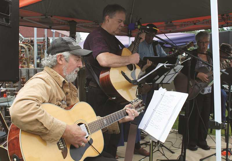 PEGGY SAVAGE - Al Rose and the Other Guys, a popular local band, will provide opening day entertainment to liven up the May 18 Molalla Farmers' Market