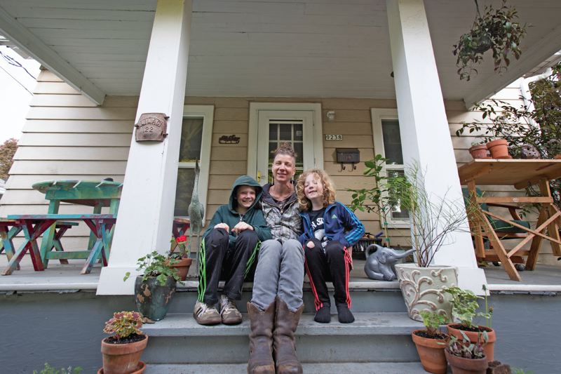 PORTLAND TRIBUNE: JAIME VALDEZ - When her landlord decided to sell her North Portland rental home, Roscoe Ryan couldn't see how she could come up with a down payment that exceeded her annual salary. But she got help to stay in her home.