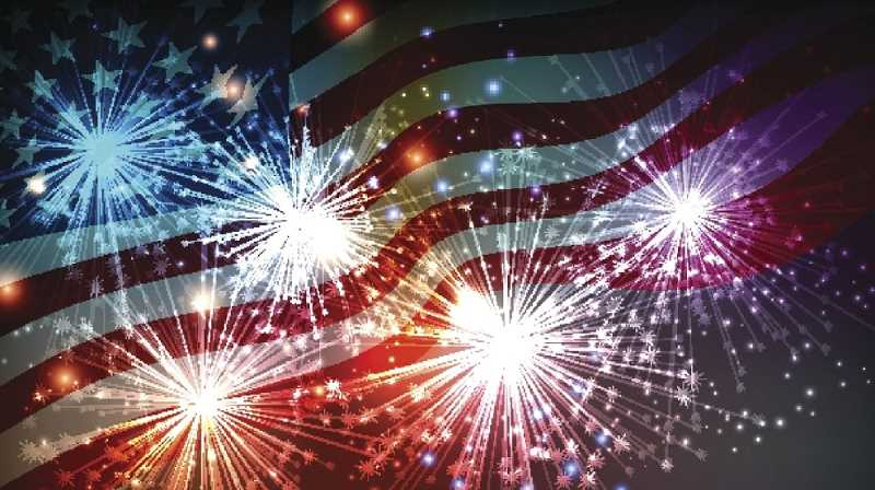 STOCK IMAGE - The Fourth of July