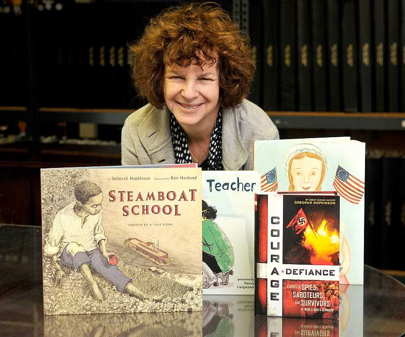 Prolific West Linn author Deborah Hopkinson earns several state, national awards