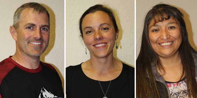 MADRAS PIONEER - Tom Norton Jr., Jamie Hurd, and Laurie Danzuka won positions 3, 2, and 1, respectively, on the School District 509-J Board of Directors.