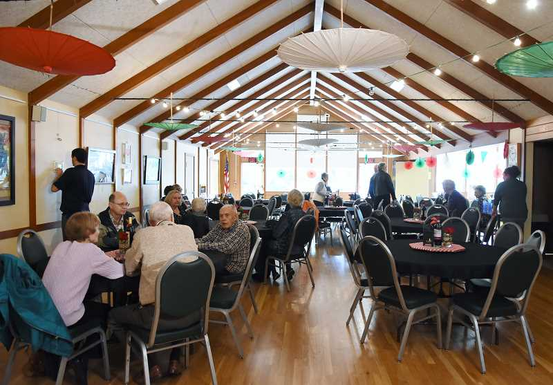 SUBMITTED PHOTO: LAKE OSWEGO ADULT COMMUNITY CENTER   Guests Gathered For A  Volunteer Appreciation Event Last Week At The Adult Community Center In Lake  ...