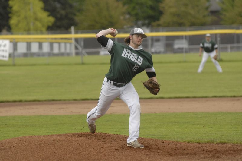 GRESHAM OUTLOOK: MATT RAWLINGS - Lucas Dehnert deals to the plate in Reynolds's 1-0 win over Glencoe