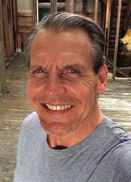 CONTRIBUTED - A recent selfie taken by Geoff Thompson.