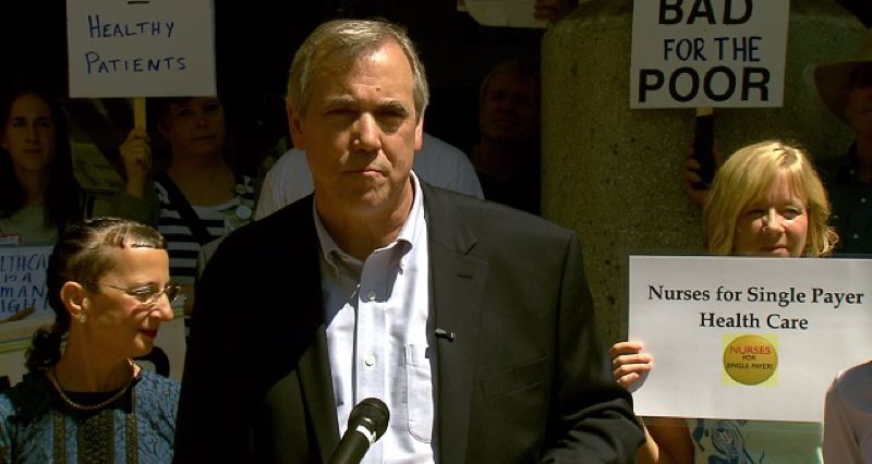 KOIN 6 NEWS - Oregon U.S. Sen. Jeff Merkley spoke in Portland on Friday.