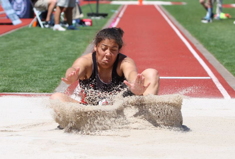 Gladstone's Grace Campbell captures 4A girls' long jump