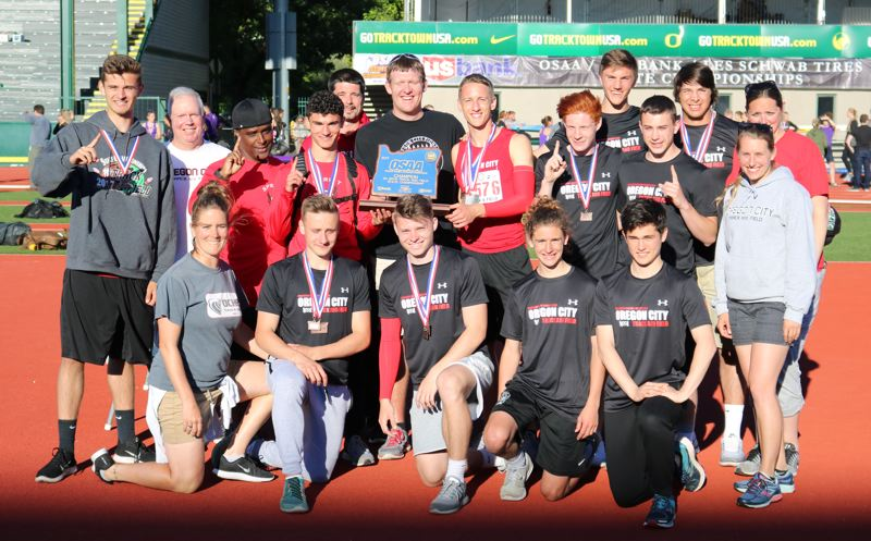Oregon City claims 6A boys' track and field state title