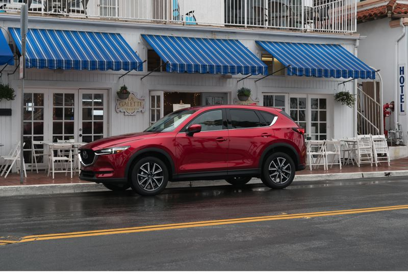MAZDA NORTH AMERICAN OPERATIONS - The completely redesigned 2017 Mazda CX-5 increases the refinement of the compact crossover that has been praised for its handling.
