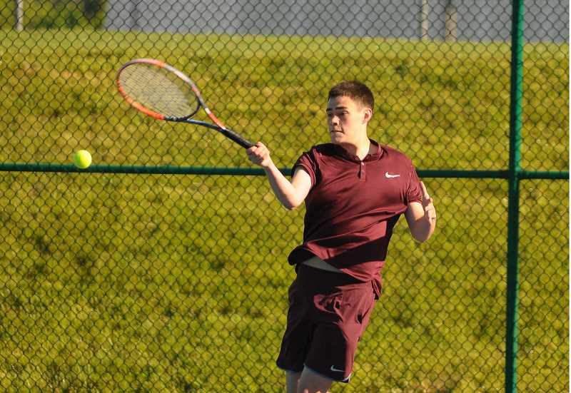 Forest Grove's Faris wins, then loses in state tennis championships