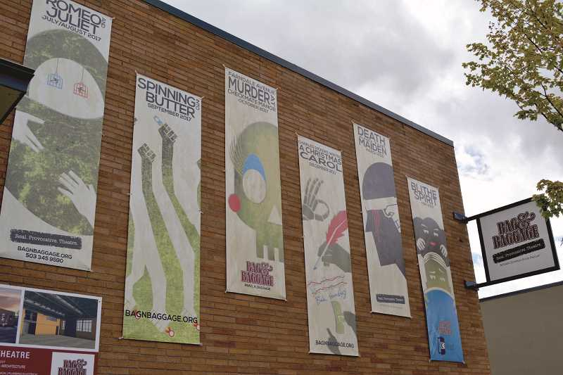 Local actor designs B&B's promotional art banners