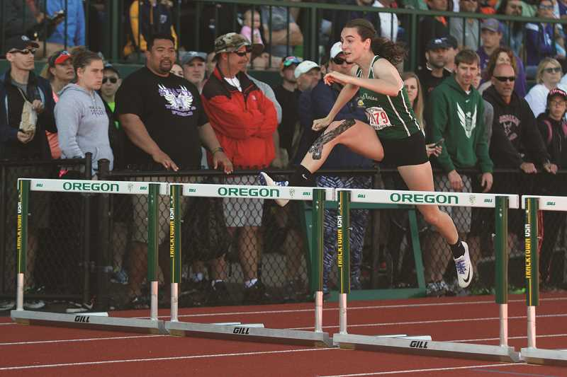 Track: North Marion's Scanlan captures improbable title in 100-meter hurdles