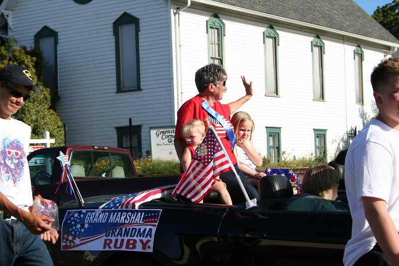 Nominate a Molalla Kiddies Parade Grand Marshal for 2017