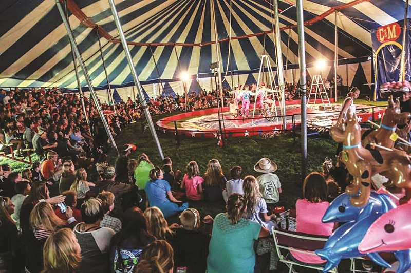 The circus is coming to Molalla