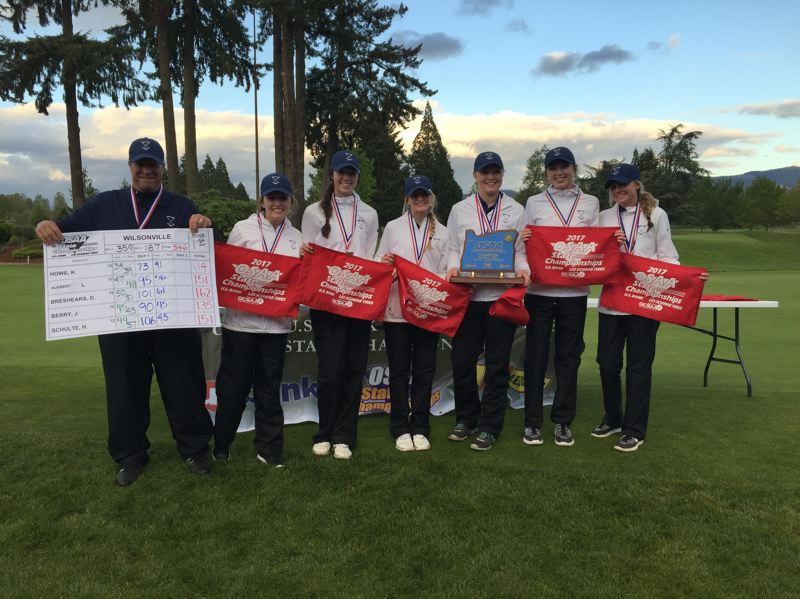 Girls golf: Wilsonville clinches its first state title