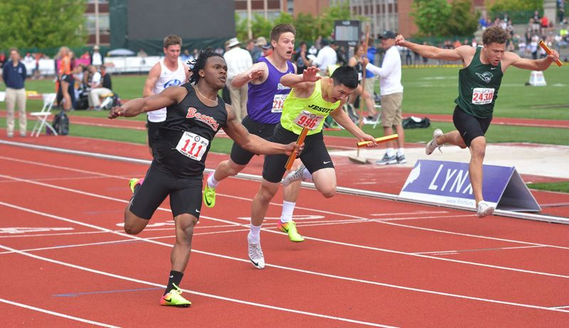Albright, Beaver boys track team shows out at 6A state championship