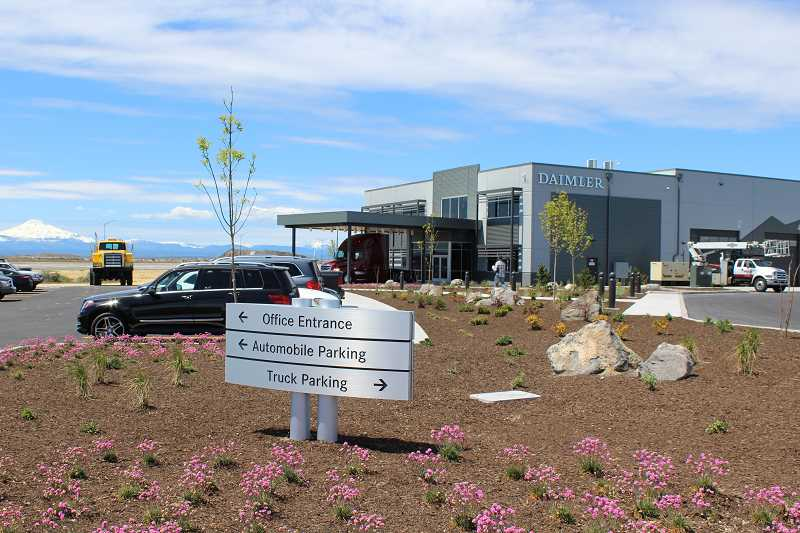 HOLLY M. GILL - The attractive new Daimler Trucks North America High Desert Proving Ground held a grand opening May 18.