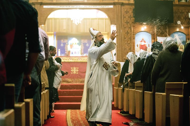 Christian Copts find community, isolation in Portland church