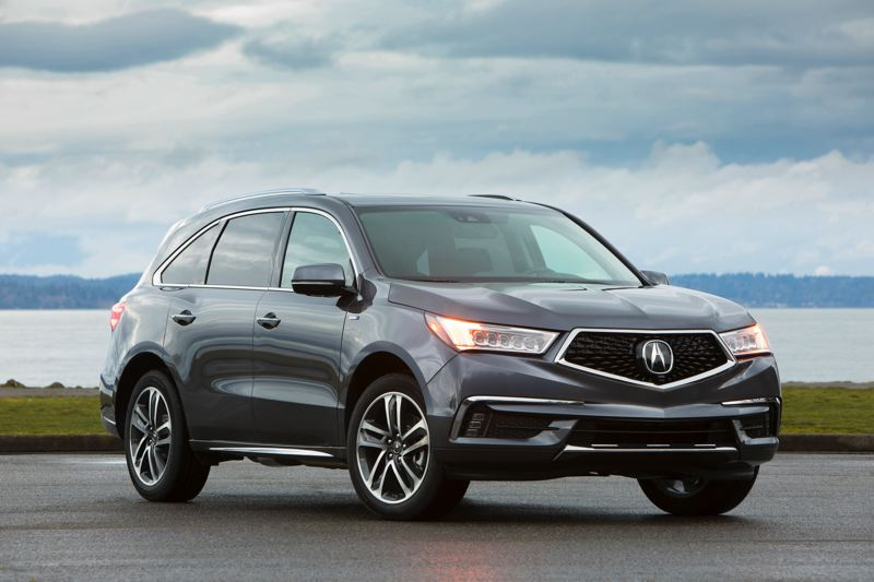 AMERICAN HONDA MOTOR CO. - The 2017 Acura MDX Sport Hybrid AWD is not only one of the best looking three-row crossover SUVs on the market, it is more powerful and gets better mileage than the gas-powered version.