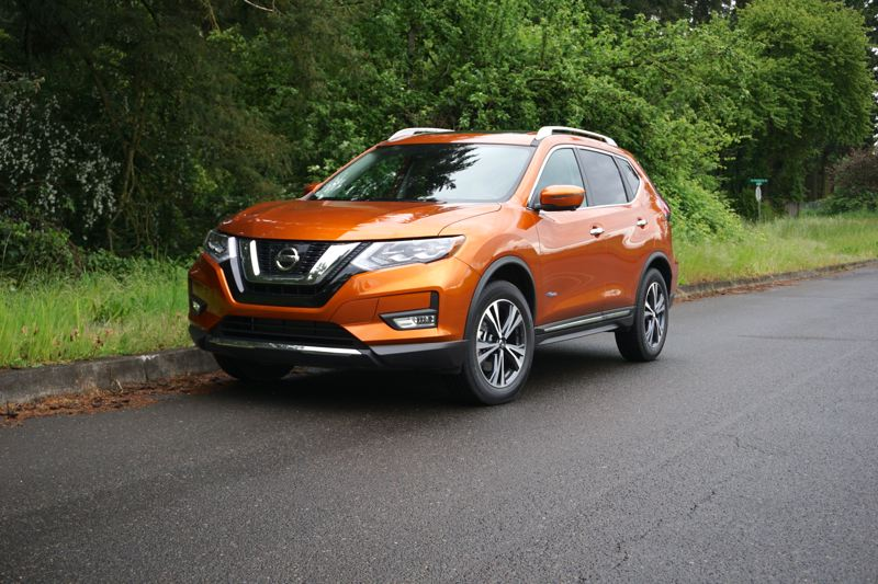PORTLAND TRIBUNE: JEFF ZURSCHMEIDE - Nissan's compact Rogue Hybrid crossover can be ordered with either front-wheel-drive or all-wheel-drive, which is a good option for the Pacific Northwest. Mileage is almost the same.