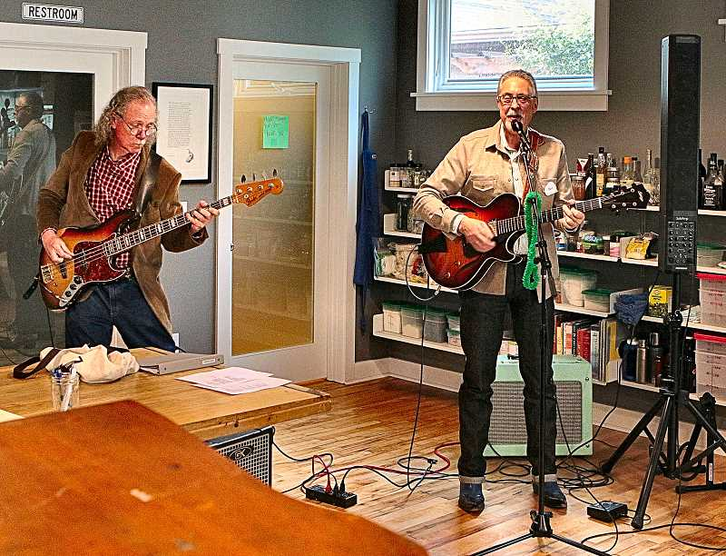 DAVID F. ASHTON  - Retired Woodstock Library Childrens Librarian and bassist Peter Connor Ford musically accompanied Bert Sperlings musical alter ego Hank Sinatra.