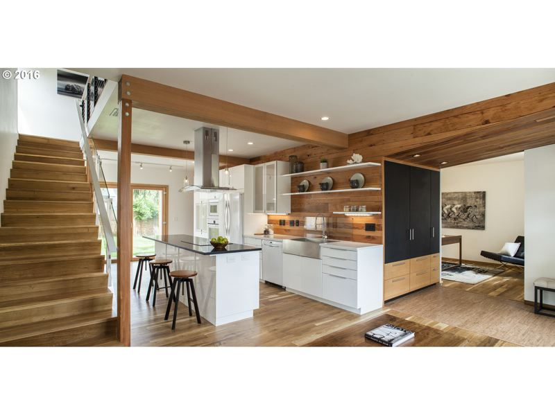 COURTESY: MA+DS HOME TOURS  - Home number 4 is a remodel by Hinge Build Group which updated a modern building into a Certified Passive House.