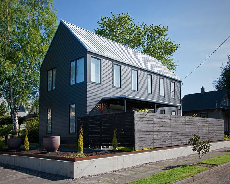 COURTESY: MA+DS HOME TOURS  - Home number 5 is a Scott Pitek design.