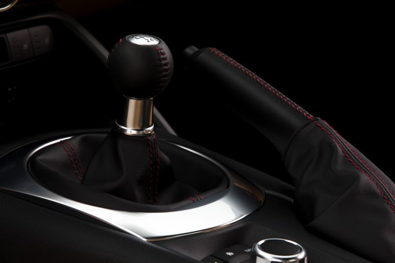 MAZDA USA - The six-speed manual transmission in the 2017 Mazda MX-5 Miata is one of the slickest-shifting in any car.
