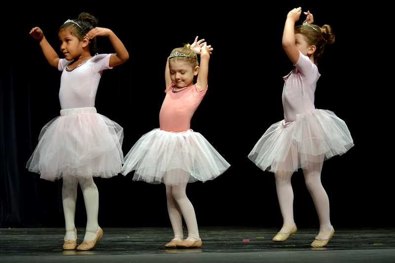 COURTESY PHOTO - Northwest Conservatory of Dance offers a Cinderella Dance Camp for young ballerinas, as well as camps for more advanced dancers.