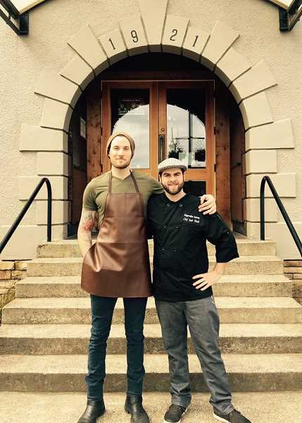 COURTESY PHOTO - Manager Jeff Farrar and head chef Josh Trueb go way back. They've been reunited by Ridgewalker, and plan to shake the food scene up in the community.