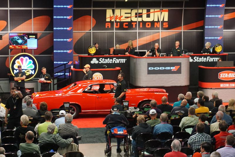 PORTLAND TRIBUNE: JEFF ZURSHMEIDE - Mecum Auctions drew a surpringly large crowd the first time it came to Portland last year, which is why they are returning on June 16-17.