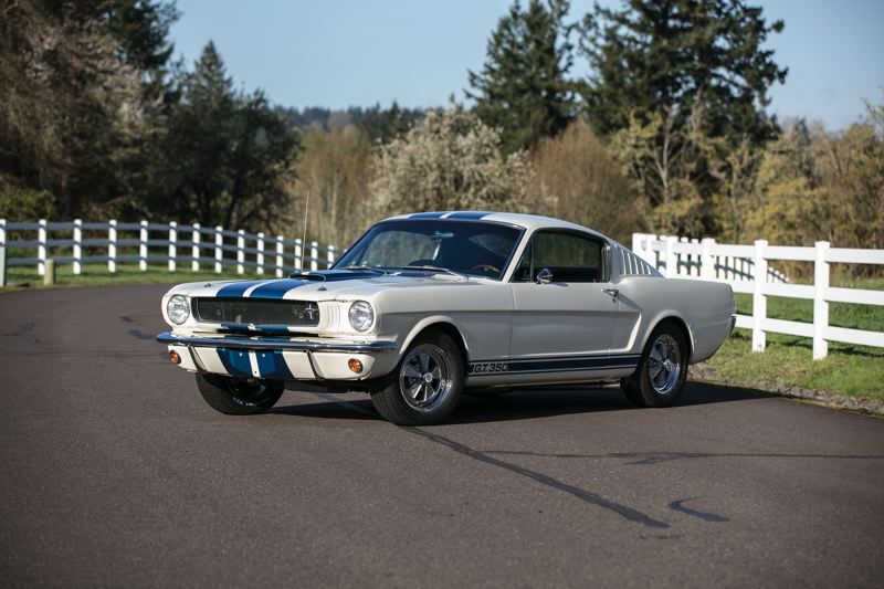 COURTESY MECUM AUCTIONS - This 1965 Shelby GT350 will be among the rarest cars at the upcoming Portland auction.