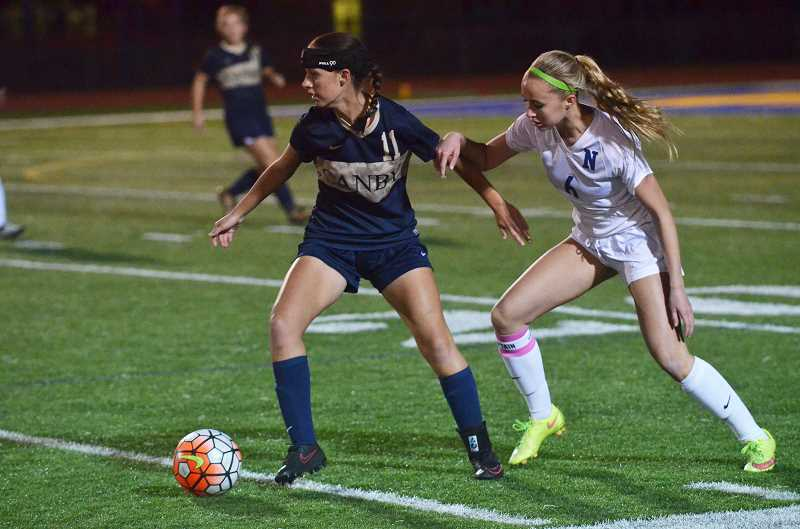 HERALD FILE PHOTO: COREY BUCHANAN - Photo of Canby girls soccer player Jennah Morris